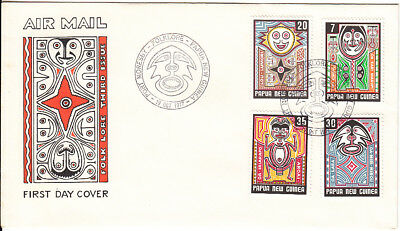 PNG 1977 Folklore FDC