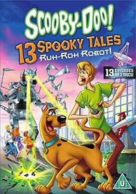 Scooby-Doo: 13 Spooky Tales - Ruh-Roh Robot! [DVD] [2016] - DVD  9UVG The Cheap
