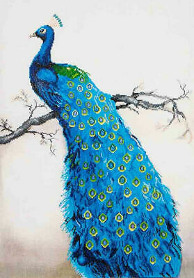 Diamond Dotz Embroidery Facet Art Kit, Advanced Blue Peacock