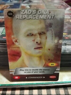 "JAMES BOND 007 SPY CARDS 2008 Holograph Ultra rare card ""Zao's DNA Replacement"""