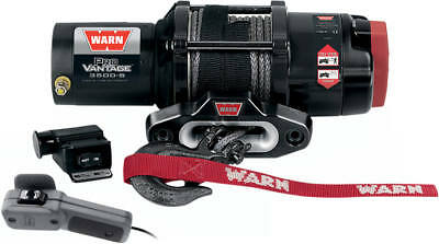 Warn Provantage 3500Lb Winch W/50Ft Synthetic Rope|4505-0488|90351