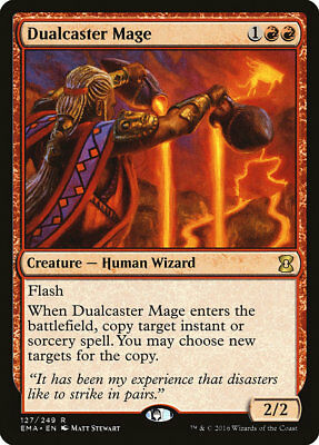 MTG Dualcaster Mage [English, Eternal Masters, Free P&P]