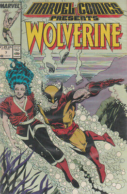 Wolverine #7 Marvel Comics Presents x-men vintage - Excellent Condition