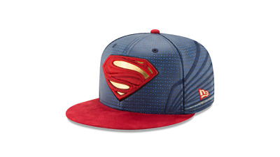 Superman Justice League Armor All Over 59Fifty Fitted Hat Cap New Era Ltd 7 1/4