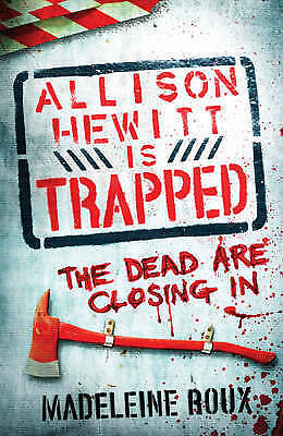 Allison Hewitt is Trapped by Madeleine Roux (Paperback) New Book