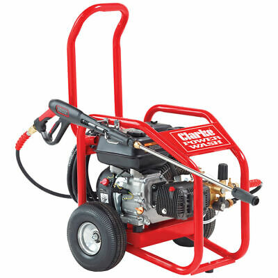 Clarke PLS195 Heavy Duty Petrol Pressure Washer with Barell Feed ability 7330360