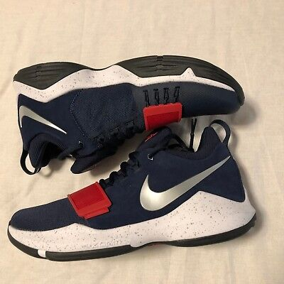 a5dcaf068c3 NIKE PG1 USA Paul George 878627-900 Olympics Red White Blue NO BOX ...