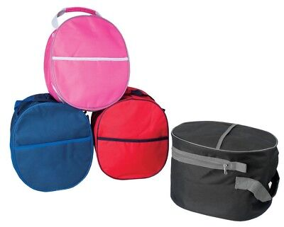 Rhinegold Essential Riding Hat Carry Storage Luggage Bag 4 Colours Free P&P