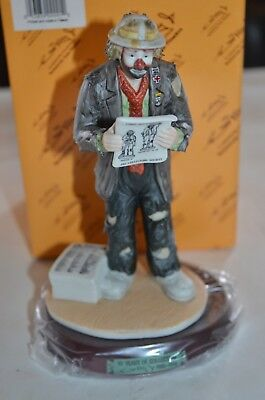 Emmett Kelly Jr. 10 Years Of Collecting 1981-1991 Collectors Society No. 3708