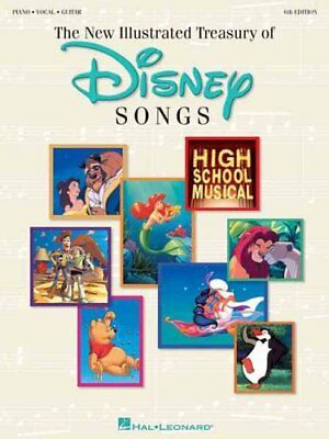The New Illustrated Treasury Of Disney Songs 6th Edition 9780793593651