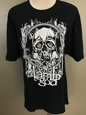 Lamb Of God North America 2013 Tour Concert Rock Band T Shirt 3XL E4