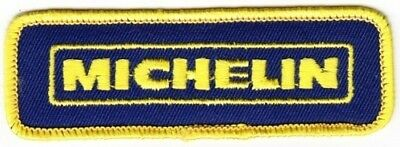 Michelin Tire Company on Blue Twill Patch