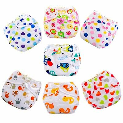 Adjustable Reusable Swimming Nappies Diapers Boys Girls Unisex Summer Holiday