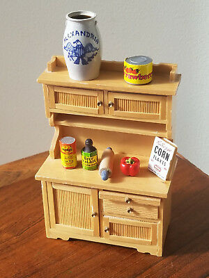 Vintage Set of 9 Various Doll House Furniture And Accessories