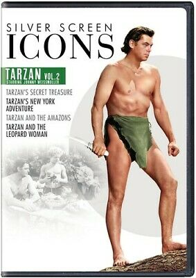 Silver Screen Icons: Tarzan Starring Johnny Weissmuller Volume 2 [New DVD] 2 P