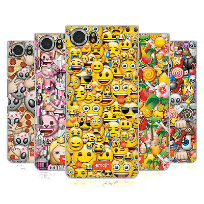 Official Emoji Full Patterns Hard Back Case For Blackberry Phones