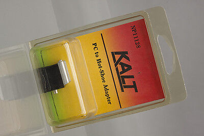 New-Old-Stock Kalt NP11128 PC to Hot-Shoe Adapter