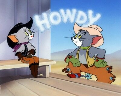 "Tom and Jerry (cel related) Giclee ""Howdy""  L.E./250 by MGM studios"
