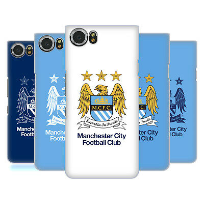 Official Manchester City Man City Fc Crest Hard Back Case For Blackberry Phones