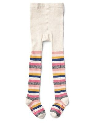NWT Baby Gap Into the Woods Original 2007 Striped Tights 12-24  LR