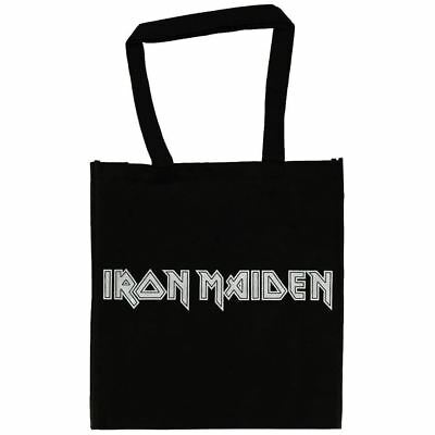 Official Licensed Iron Maiden Logo Trend Grocery Shopping Eco Tote Bag