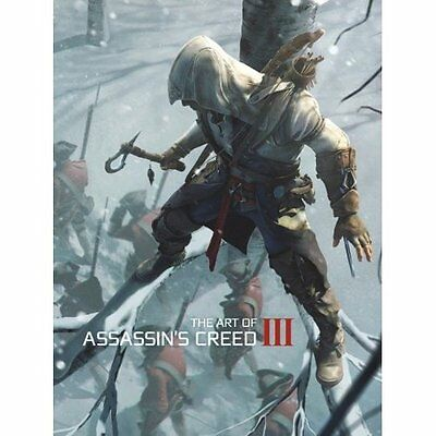 Art of Assassin's Creed III 3 official art book NEW & SEALED