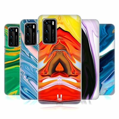 Head Case Designs Colourful Agates Hard Back Case For Huawei Phones 1