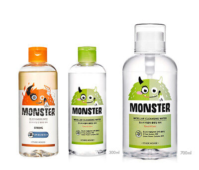 ETUDE HOUSE - MONSTER CLEANSING WATER Line ( KOREA Authentic Genuine )