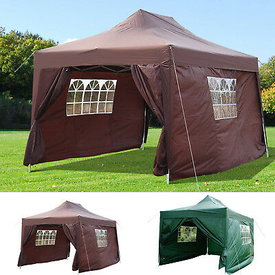 Summer Clearance 10 x 15ft Pop Up Canopy Tent Gazebo Wedding Party Shelter
