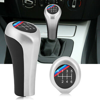 6 Speed Gear Shift Knob For BMW 1 3 5 6 Series X1 X3 X5 E60 E61 E65 E83 E84 E90