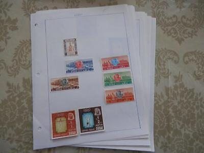 Dubai Old Collection Mint/used On Pages Dr Schultz Estate !!8617D