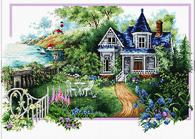 No Count Cross Stitch Kit SUMMER COMES, 59 x 39cm