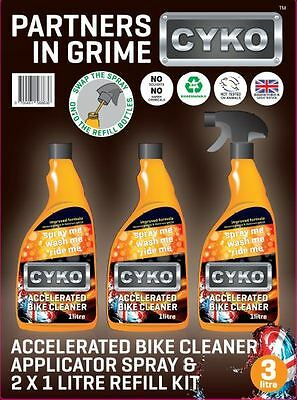 Motor Cycle Cleaner 3 x 1 Ltr pack - FREE DELIVERY