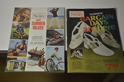 Simpsons Sears 1972 Summer Catalog & Summer Bargains
