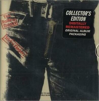 Rolling Stones, the : Sticky Fingers (Collectors Edition) CD Fast and FREE P & P