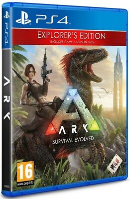 ARK: Survival Evolved PS4 Explorers Edition + Season Pass.