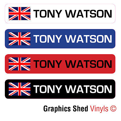 6 x PERSONALISED BIKE FRAME NAME STICKERS ROAD CYCLE CYCLING FRAME HELMET DECALS