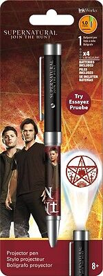 Supernatural - Projector Ink Pen - Brand New - Tv Show 4118