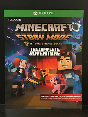 Minecraft: Story Mode The Complete Adventure [Download] [Xbox One] Instant 24/7