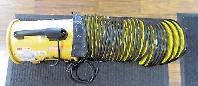"""Allegro stfj-20n 8"""" Axial Blower Portable Ventilator with 15' ducting"""