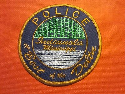 Collectible Mississippi Police Patch, Indianola