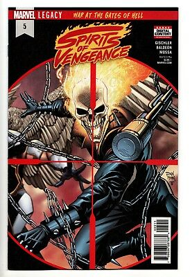 Spirits of Vengeance #5 - Legacy / War At The Gates Of Hell  (Marvel, 2018) - NM