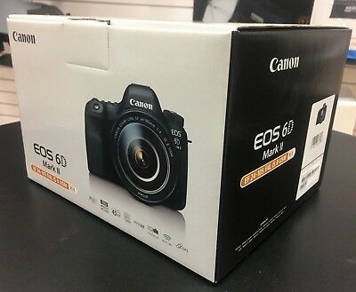 Canon EOS 6D Mark II DSLR Camera with EF 24-105mm f/4L IS II USM Lens *OPEN BOX*