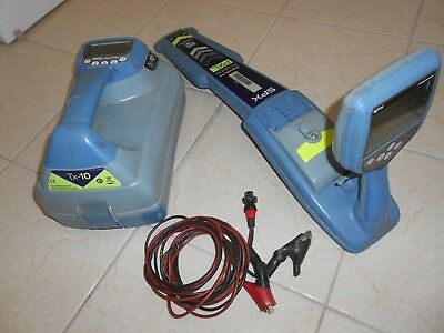 Radiodetection Rd 8000 Wand And Tx 10 Transmitter Pipe And Cable Locator