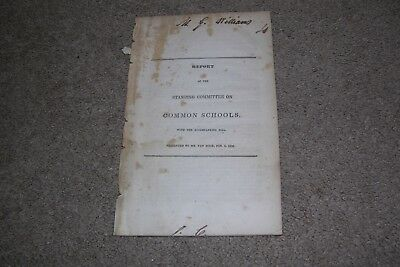 1838 Report Ohio Common Schools