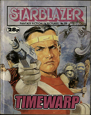 Timewarp,starblazer Fantasy Fiction In Pictures,no.220,1988,comic