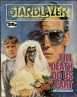 Till Death Do Us Part,starblazer Fantasy Fiction In Pictures,no.219,1988,comic