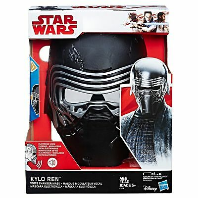 Star Wars: The Last Jedi Kylo Ren Electronic Voice Changer Mask New