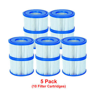 Bestway 10 Filter Cartridges VI 58323 Lay-Z-Spa, Miami Monaco Vegas Palm Springs