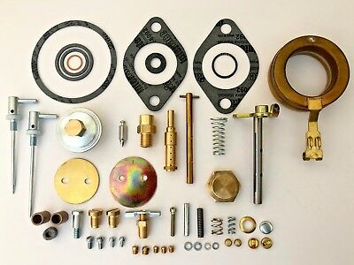 John Deere Late A Tractor DLTX71 Carburetor Major Repair Kit w/ Float